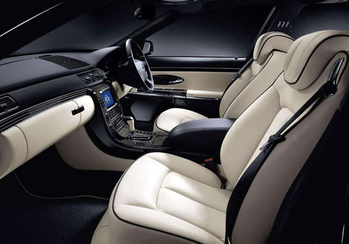 Maybach 57 S Front Seats Interior Picture