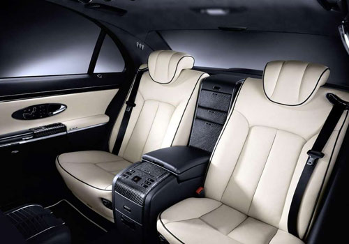 Maybach 57 S Rear Seats Interior Picture