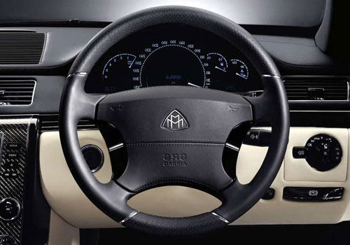 Maybach 57 S Steering Wheel Interior Picture