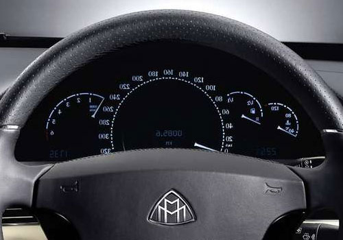 Maybach 57 S Tachometer Interior Picture
