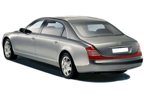 Maybach 62 Cross Side View Exterior Picture