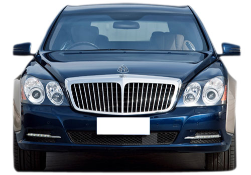 Maybach 62 Front View Exterior Picture
