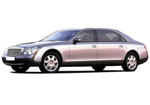 Maybach 62 Front Angle Low Wide Exterior Picture