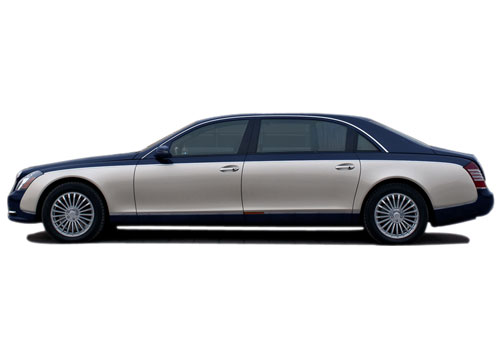 Maybach 62 Front Angle Side View Exterior Picture