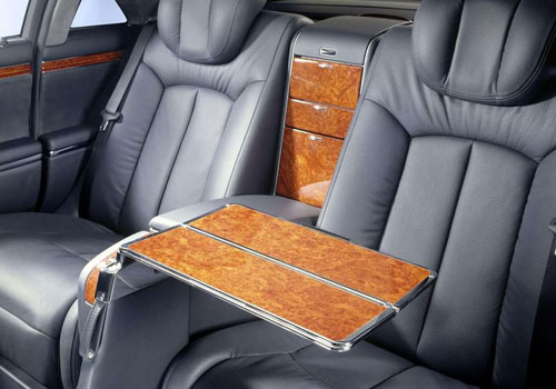 Maybach 62 Rear Seats Interior Picture