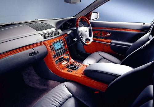 Maybach 62 Dashboard Interior Picture