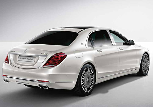 Maybach S500 Rear Angle View Exterior Picture