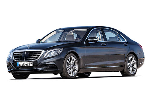 Maybach S500 Front Angle View Exterior Picture