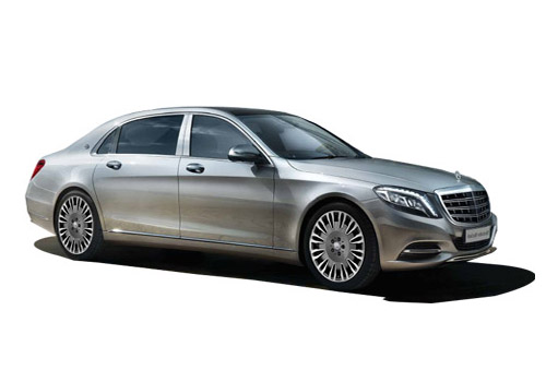 Maybach S500 Front Side View Exterior Picture