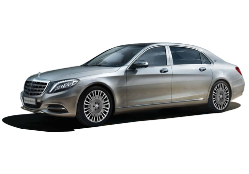 Maybach S500 Front Medium View Exterior Picture