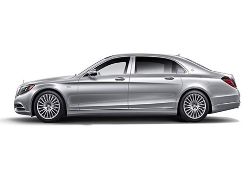 Maybach S500 Front Angle Side View Exterior Picture