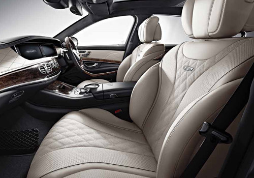 Maybach S500 Front Seats Interior Picture