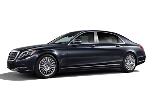 Maybach S600 Front Angle View Exterior Picture