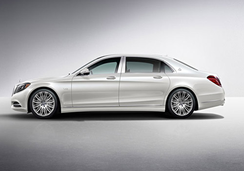 Maybach S600 Front Angle Side View Exterior Picture