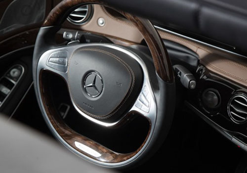 Maybach S600 Steering Wheel Interior Picture