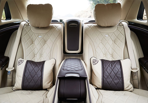 Maybach S600 Passenger Seat Interior Picture