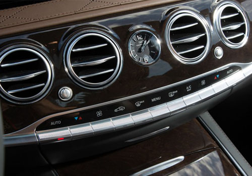 Maybach S600 Front AC Controls Interior Picture