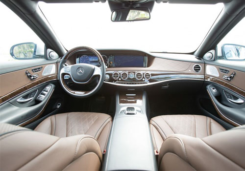 Maybach S600 Central Control Interior Picture