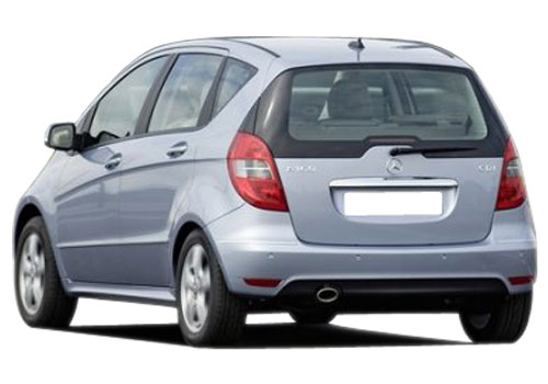 Mercedes Benz A Class Rear View Exterior Picture