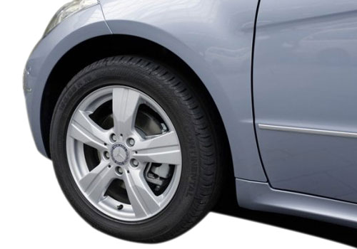 Mercedes Benz A Class Wheel and Tyre Exterior Picture