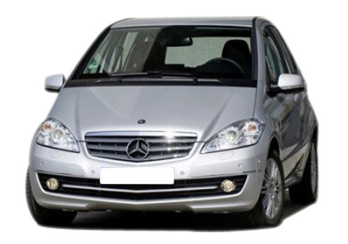 Mercedes Benz A Class Front Angle High View Picture
