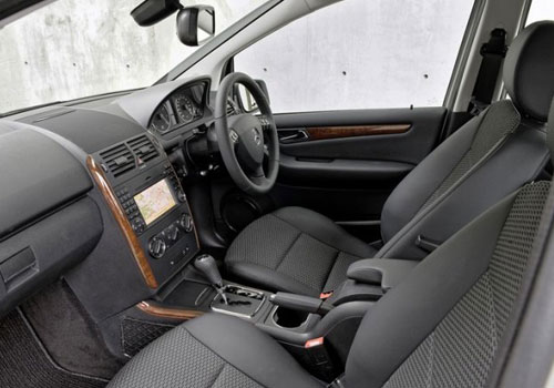 Mercedes Benz A Class Front Seats Interior Picture