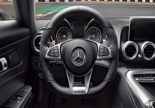 Mercedes Benz AMG  Steering Wheel Interior Picture