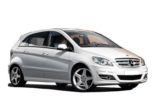 Mercedes Benz B Class Front Side View Exterior Picture