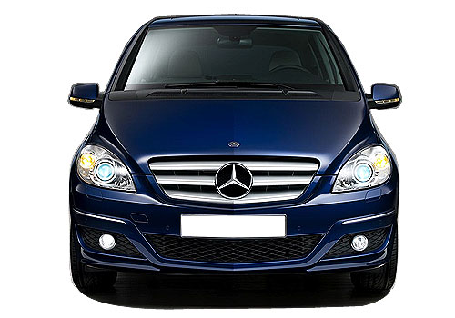 Mercedes Benz B Class Front View Picture