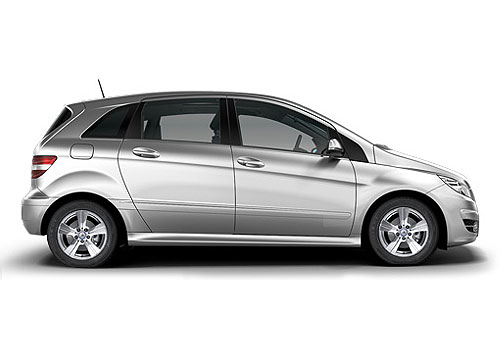 Mercedes Benz B Class Side Medium View Exterior Picture