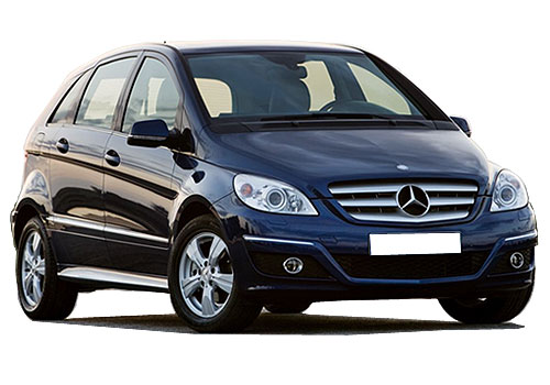 Mercedes Benz B Class Front Low Angle View Exterior Picture