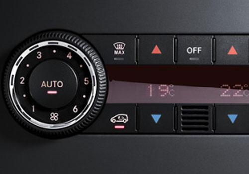 Mercedes Benz B Class Rear AC Control Interior Picture