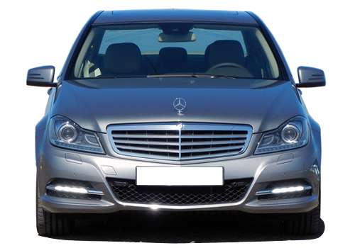 Mercedes Benz C Class Front View Picture