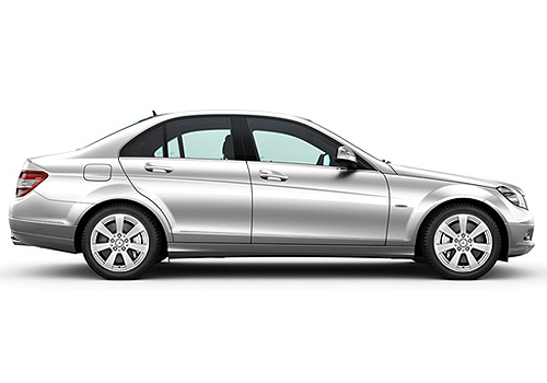 Mercedes Benz C Class Side Medium View Exterior Picture