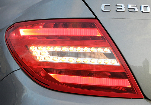 Mercedes Benz C Class Tail Light Exterior Picture