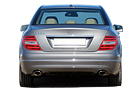 Mercedes Benz C Class Rear View Picture