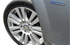 Mercedes Benz C Class Wheel and Tyre Picture