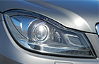 Mercedes Benz C Class Headlight Photos
