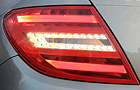 Mercedes Benz C Class Tail Light Picture