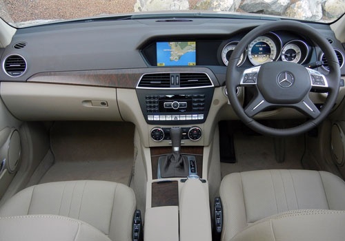 Mercedes Benz C Class Dashboard Picture