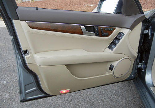 Mercedes Benz C Class Inside Driver Side Door Open