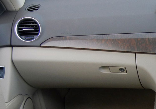 Mercedes Benz C Class Side AC Control Interior Picture