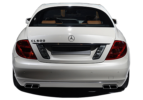 Mercedes Benz CL Class Rear View Exterior Picture