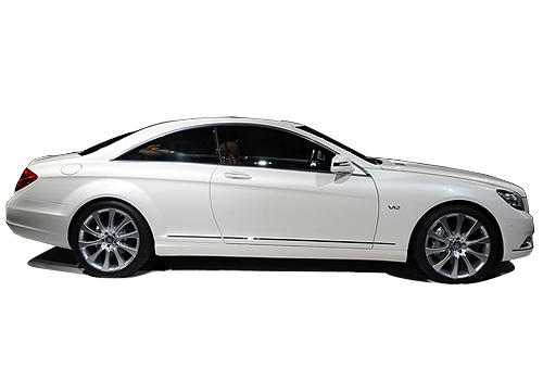 Mercedes Benz CL Class Side Medium View Exterior Picture