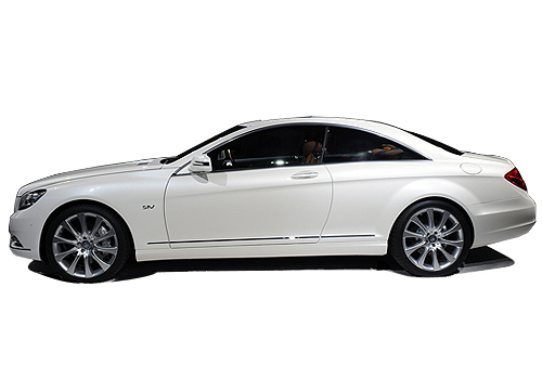 Mercedes Benz CL Class Front Angle Side View Exterior Picture