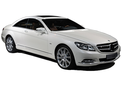 Mercedes Benz CL Class Front Low Angle View Exterior Picture