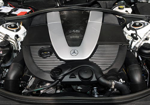 Mercedes Benz CL Class Engine Interior Picture
