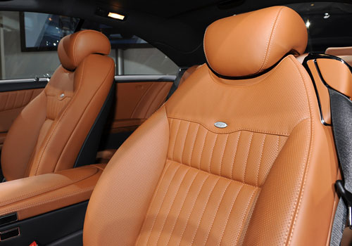 Mercedes Benz CL Class Front Seats Interior Picture