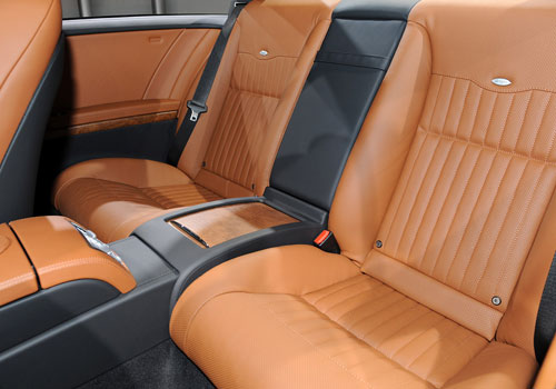 Mercedes Benz CL Class Rear Seats Interior Picture