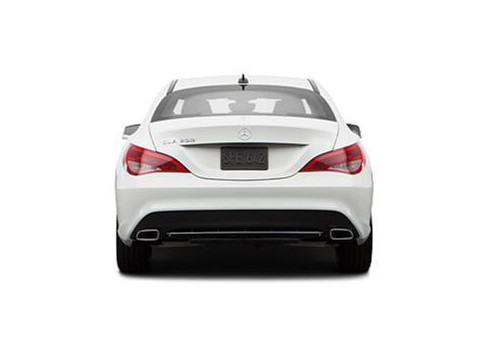 Mercedes Benz CLA Class Rear View Exterior Picture